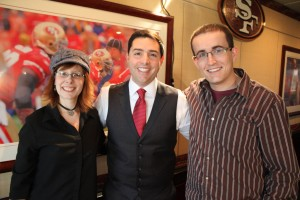 Alison and Paul with Jed York